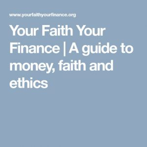 Your Faith Your Finance
