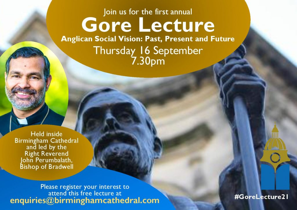 Charles Gore Social Teachings Lecture